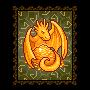 Dragón dorado.
