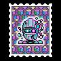 Robot Vaporwave – Nube Trade